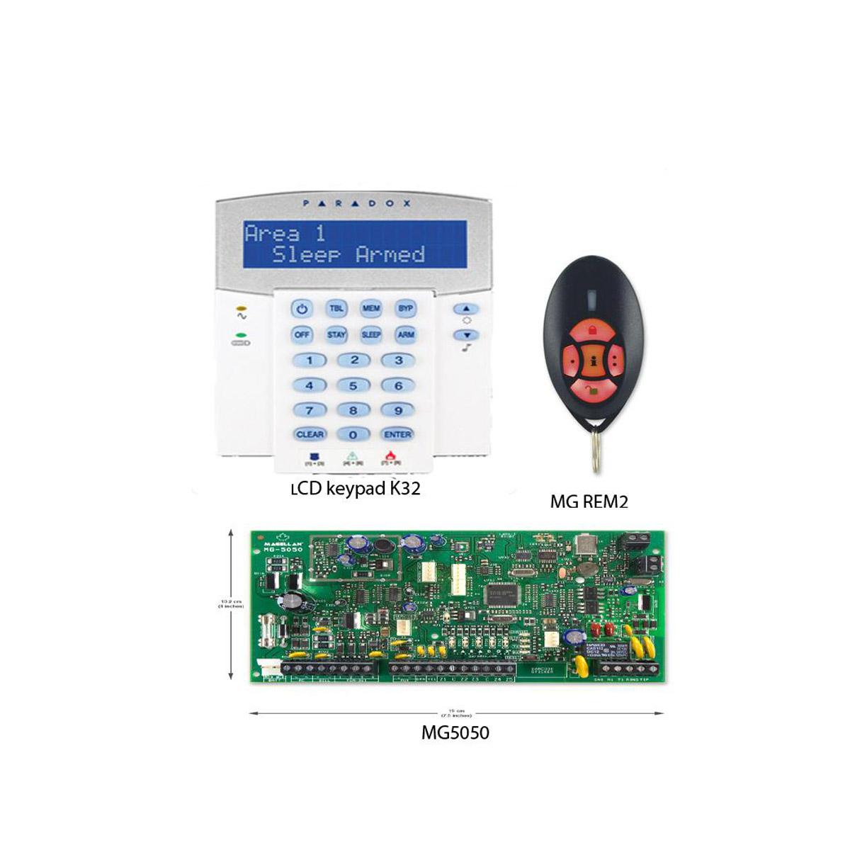 paradox mg5050 full kit alarm rivolt rh rivolt co za Manuals in PDF paradox magellan 5050 installation manual