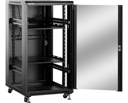 22U Freestanding Network Cabinet 600mm Deep