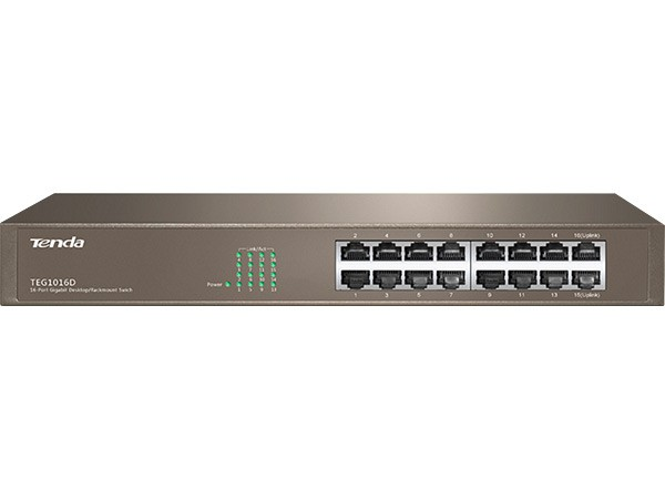 16 Port 10/100/1000 Gigabit Ethernet Switch