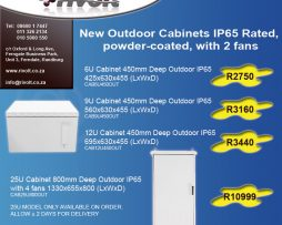 Outdoor Network Cabinets Special