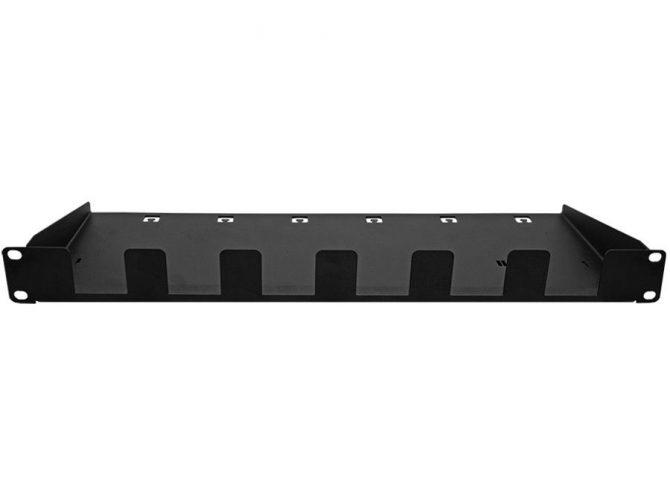 19 Inch Blank Rackmount Panel, 6xPoE