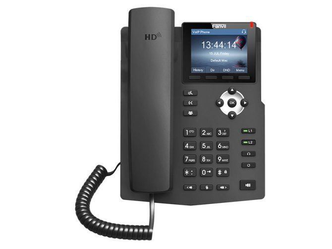 Fanvil 2SIP Colour Screen VoIP Phone
