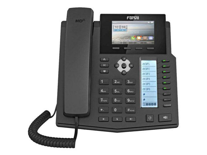 Fanvil 6SIP Gigabit High-end Enterprise Desktop VOIP Phone 40 DSS Key