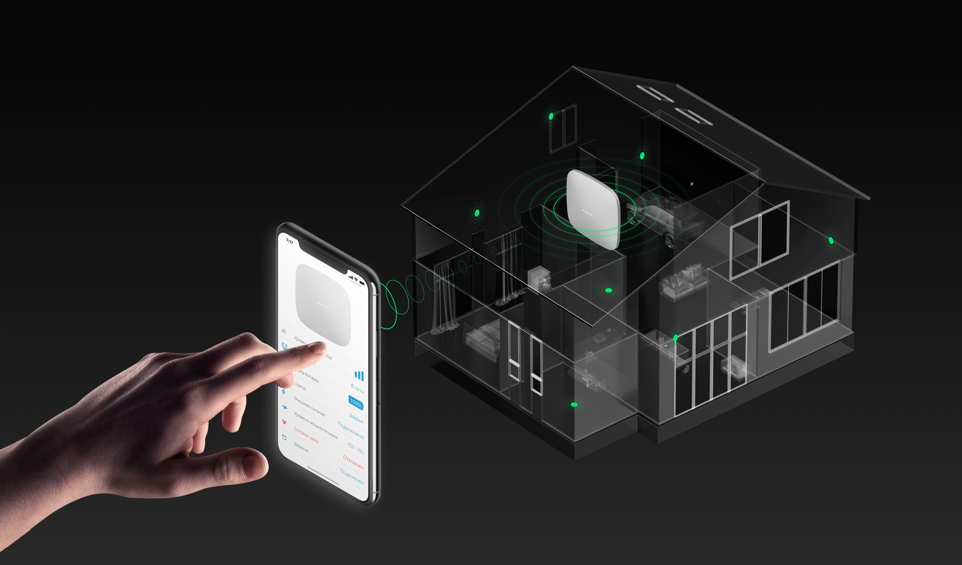 Ajax wireless smart alarm south africa