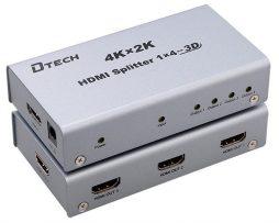 1 TO 4 HDMI Splitter 4K