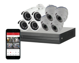 8 Channel Complete CCTV Kit